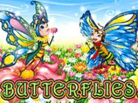 Бабочки – интересный и яркий игровой автомат на нашем сайте